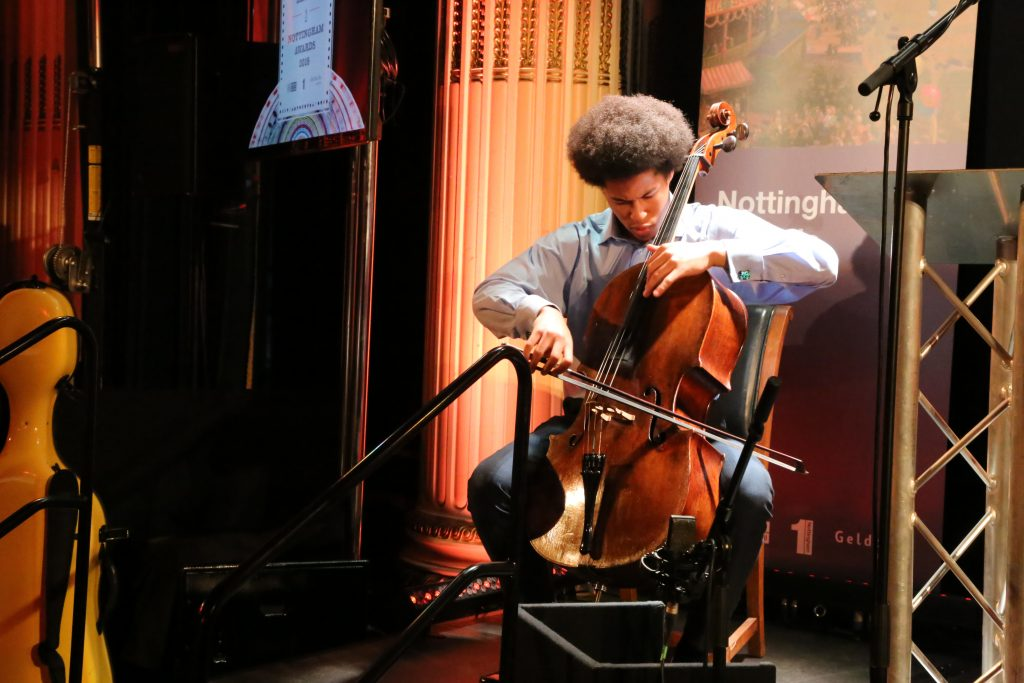 BBC Young Musician of the Year 2016, Sheku Kanneh-Mason.
