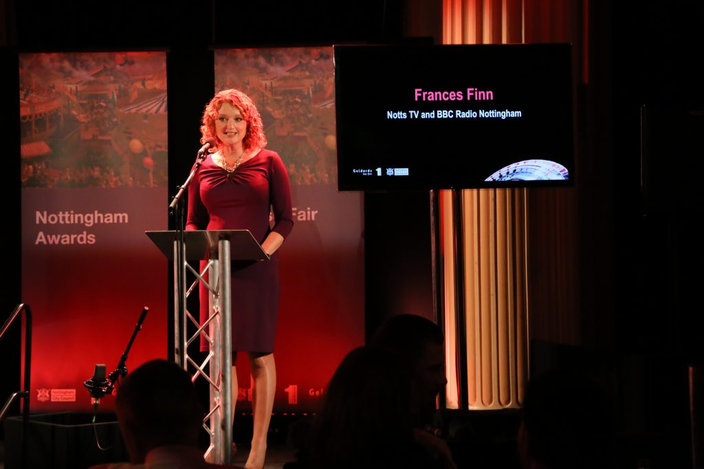 MC Frances Finn.