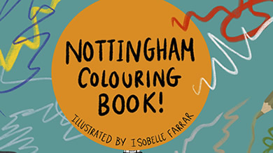 The Nottingham Colouring Book – Now Available